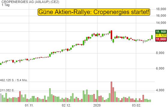 CROPENERGIES AG (7,13%)
