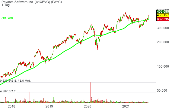 Paycom Software Inc. (8,78%)