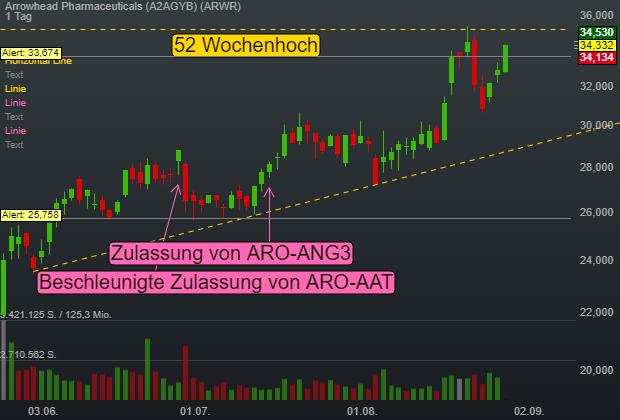 Arrowhead Pharmaceuticals (4,32%)