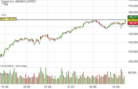 Copart Inc. (0,02%)