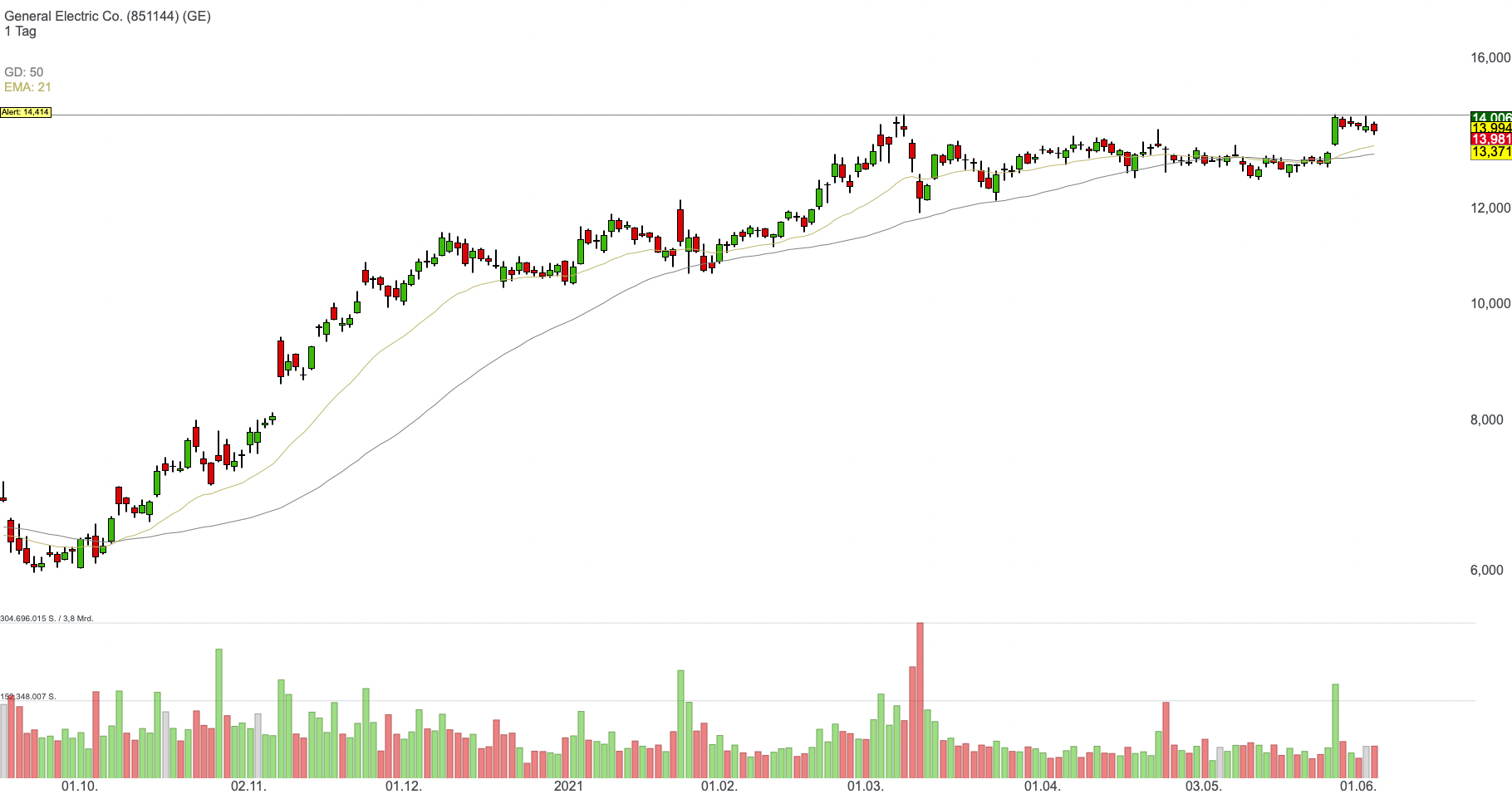 General Electric Co. (0,24%)