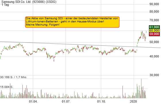 Samsung SDI Co. Ltd. (9,89%)