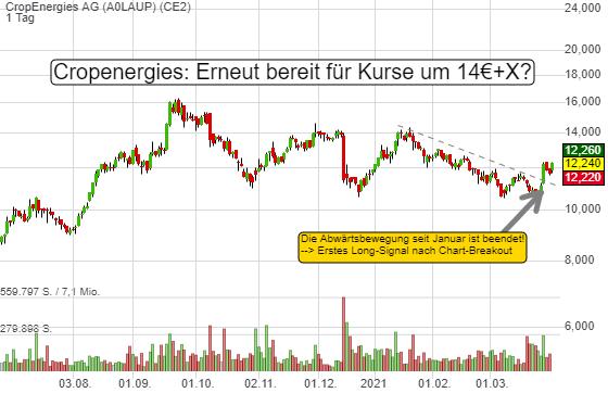 CropEnergies AG (3,90%)