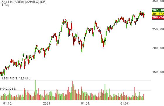 Sea Ltd.(ADRs) (3,88%)