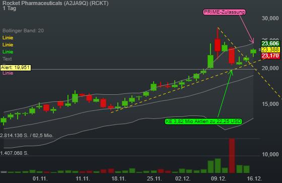 Rocket Pharmaceuticals (6,75%)