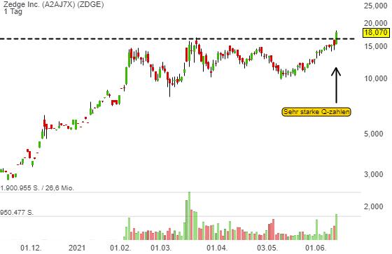 Zedge Inc. (18,65%)