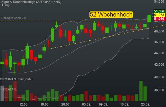 Floor & Decor Holdings (3,60%)