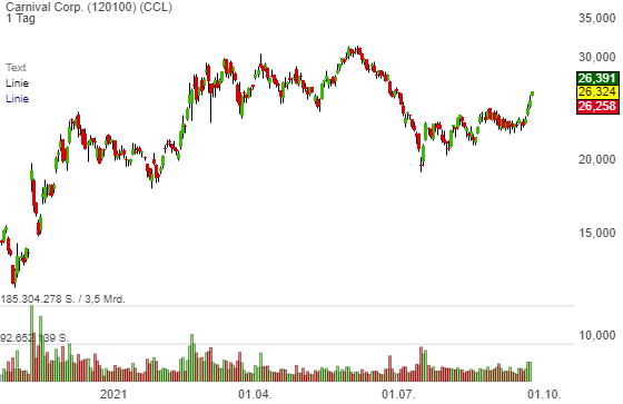Carnival Corp. (3,48%)