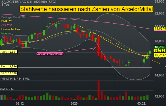 SALZGITTER AG O.N. (3,95%)