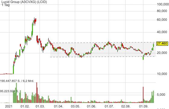 Lucid Group (3,08%)