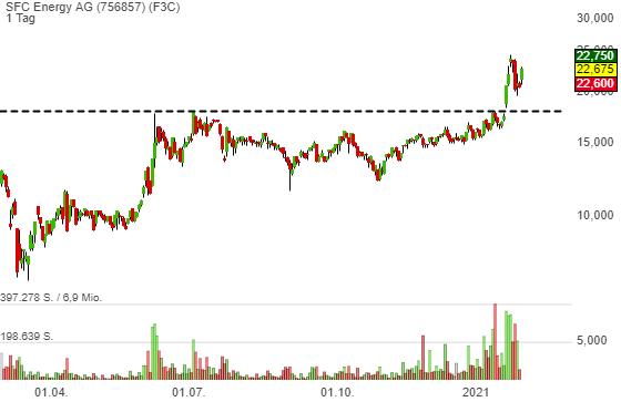SFC Energy AG (10,61%)